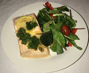 Steamed Citrus Salmon