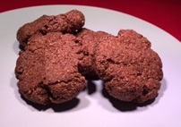 chocolate keto biscuits
