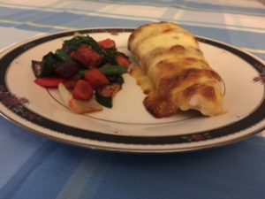 mozzarella stuffed chicken breast