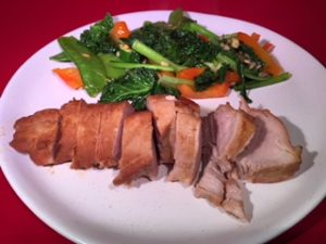 pork fillet hoisin sauce